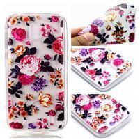 Printy gelový obal na Nokia 1 - květy