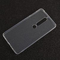 Transparentní gelový obal na Nokia 6 (2018)