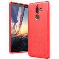 IVS gelový odolný obal s texturou na Nokia 7 Plus - červený