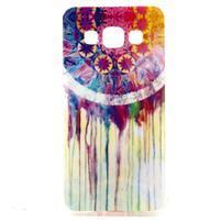 Gelový obal na Samsung Galaxy A3 - stékající barvy