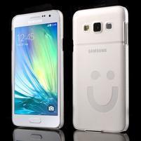 Plastový obal na Samsung Galaxy A3 - bílý