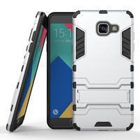 Odolný kryt na mobil Samsung Galaxy A5 (2016) - stříbrný