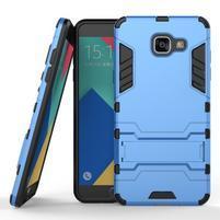 Odolný kryt na mobil Samsung Galaxy A5 (2016) - světlemodrý