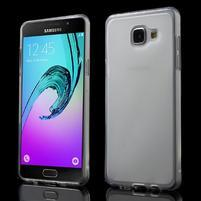 Matný gelový kryt pro Samsung Galaxy A5 (2016) - bílý