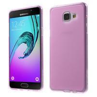 Matný gelový kryt pro Samsung Galaxy A5 (2016) - rose
