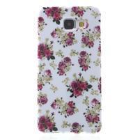 Obal s motivem na mobil Samsung Galaxy A5 (2016) - květiny