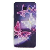 Ultratenký gelový slim obal na Samsung Galaxy A5 (2016) - kouzelní motýlci