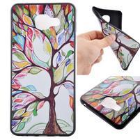 Gelový obal na mobil Samsung Galaxy A5 (2016) - malovaný strom