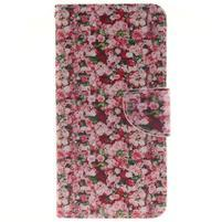 Pouzdro na mobil Samsung Galaxy A5 (2016) - růže
