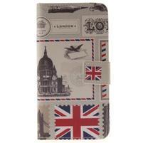 Wall peněženkové pouzdro na Samsung Galaxy A5 (2016) - United Kingdom