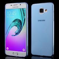 Ultratenký slim gelový obal na Samsung Galaxy A5 (2016) - modrý