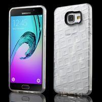 Square gelový obal na mobil Samsung Galaxy A5 (2016) - transparentní