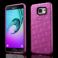 Square gelový obal na mobil Samsung Galaxy A5 (2016) - rose