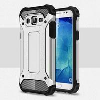 Armory odolný obal pre mobil Samsung Galaxy J5 - strieborny