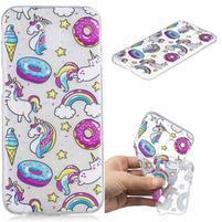 Print gelový obal na mobil Samsung Galaxy J6+ - donuty