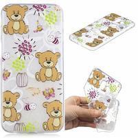 Print gelový obal na mobil Samsung Galaxy J6+ - medvídci