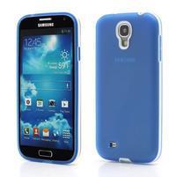 Gelové pouzdro 2v1 na Samsung Galaxy S4 - modré