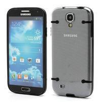 Obal na mobil se svítícími hranami na Samsung Galaxy S4 - černé