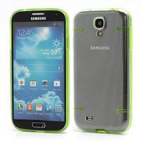 Obal na mobil se svítícími hranami na Samsung Galaxy S4 - zelené