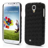 PU kožené puzdro pre Samsung Galaxy S4 - čierne