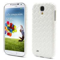 PU kožené pouzdro na Samsung Galaxy S4 - bílé