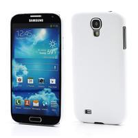 Plastové poudro na Samsung Galaxy S4 - bílé