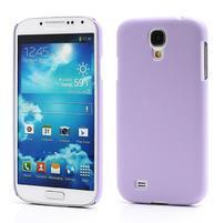 Plastové poudro na Samsung Galaxy S4 - fialové