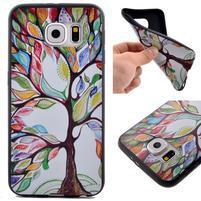 Jells gelový obal na Samsung Galaxy S7 - malovaný strom