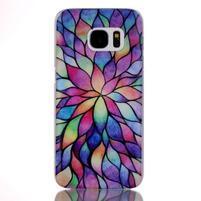 Plastový obal na mobil Samsung Galaxy S7 - petals