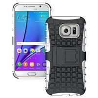 Outdoor odolný obal na mobil Samsung Galaxy S7 - bílý