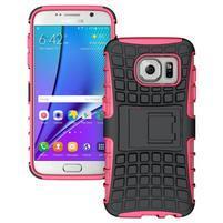 Outdoor odolný obal na mobil Samsung Galaxy S7 - rose