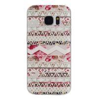 Pictu gelový obal na mobil Samsung Galaxy S7 - geo tvary