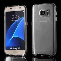 Dvoudílný obal na mobil Samsung Galaxy S7 - černý