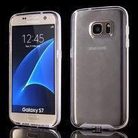 Dvoudílný obal na mobil Samsung Galaxy S7 - transparentní