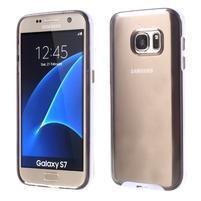 Dvoudílný obal na mobil Samsung Galaxy S7 - šedý
