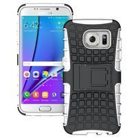 Odolný outdoor kryt na Samsung Galaxy S7 edge - bílý
