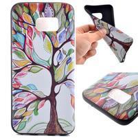 Backy gelový obal na Samsung Galaxy S7 edge - malovaný strom