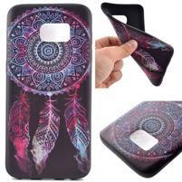 Backy gelový obal na Samsung Galaxy S7 edge - lapač snů