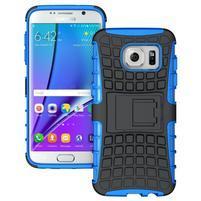 Odolný outdoor kryt na Samsung Galaxy S7 edge - modrý