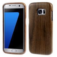 Woods dřevěný obal na mobil Samsung Galaxy S7 Edge - dekor I