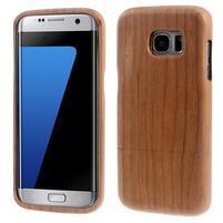 Woods dřevěný obal na mobil Samsung Galaxy S7 Edge - dekor II