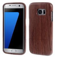 Woods dřevěný obal na mobil Samsung Galaxy S7 Edge - dekor III