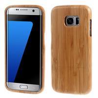 Woods dřevěný obal na mobil Samsung Galaxy S7 Edge - dekor IV