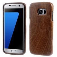 Woods dřevěný obal na mobil Samsung Galaxy S7 Edge - dekor V