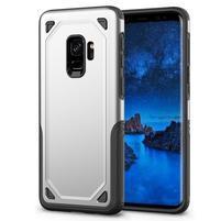Ruggi hybridní odolný obal na Samsung Galaxy S9 - stříbrný