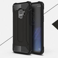 Armory odolný hybridní obal na Samsung Galaxy S9 - černý