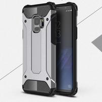Armory odolný hybridní obal na Samsung Galaxy S9 - šedý