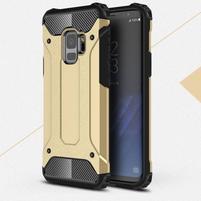 Armory odolný hybridní obal na Samsung Galaxy S9 - zlatý