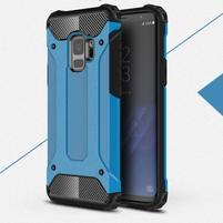 Armory odolný hybridní obal na Samsung Galaxy S9 - modrý