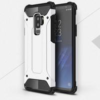 Armory odolný hybridní obal na Samsung Galaxy S9 Plus - bílý